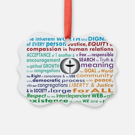 Uu 7 Principles Ornament