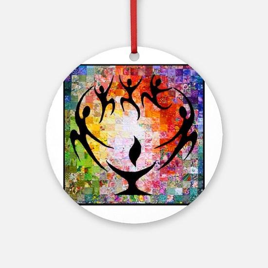 Dancer Chalice Ornament (round)