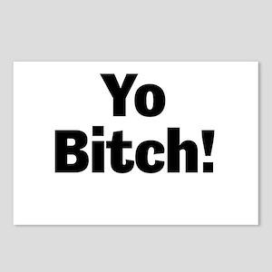 Yo Bitch! Postcards (Package of 8)