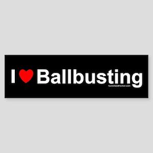 Ballbusting Sticker (Bumper)