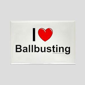 Ballbusting Rectangle Magnet