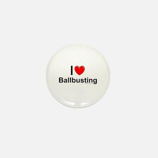 Ballbusting Mini Button