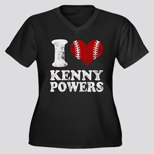 I Love Kenny Powers Eastbound and Down Plus Size T