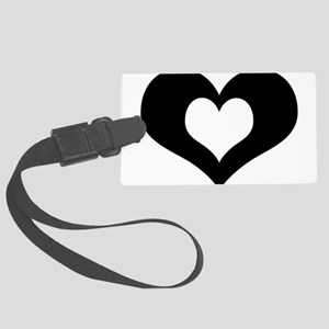 SAD? Singles Awareness Day Large Luggage Tag
