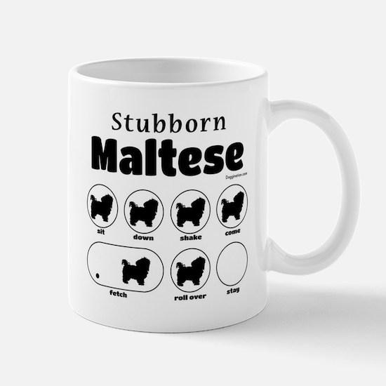 Stubborn Maltese v2 Mug