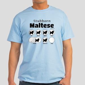 Stubborn Maltese v2 Light T-Shirt