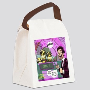 Bees Spelling Bees Canvas Lunch Bag