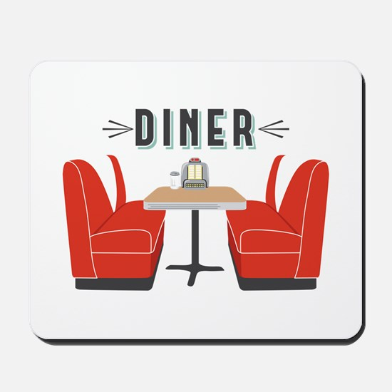 Diner Table Mousepad