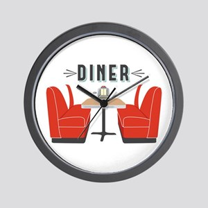 Diner Table Wall Clock