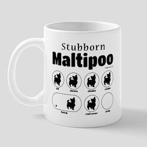 Stubborn Maltipoo v2 Mug