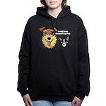 DGMDP Logo Women's Hooded Sweatshirt
