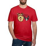 DGMDP Logo Men's Fitted T-Shirt (dark)