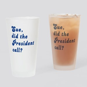 VEEP Did the President Call? Drinking Glass