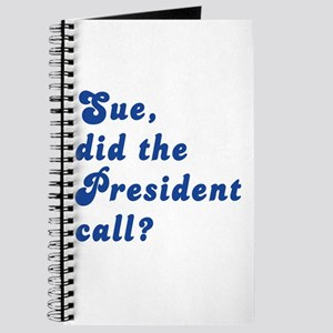 VEEP Did the President Call? Journal