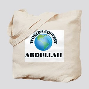 World's Coolest Abdullah Tote Bag