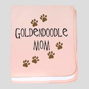 Goldendoodle Mom baby blanket