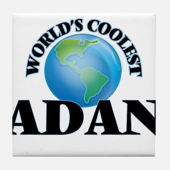 World's Coolest Adan Tile Coaster
