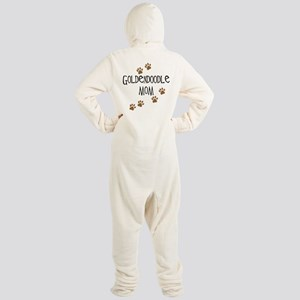 Goldendoodle Mom Footed Pajamas