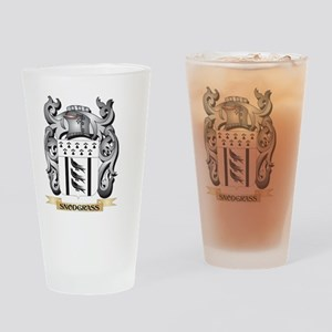 Snodgrass Coat of Arms - Family Cre Drinking Glass