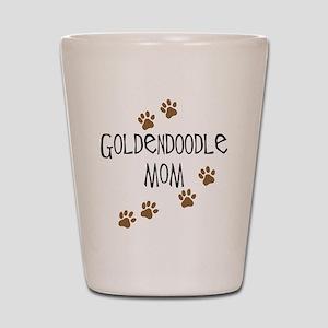 Goldendoodle Mom Shot Glass