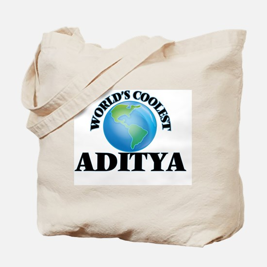 World's Coolest Aditya Tote Bag