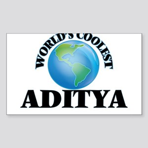 World's Coolest Aditya Sticker
