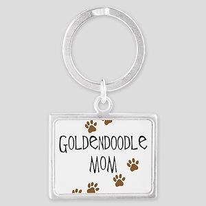 Goldendoodle Mom Keychains