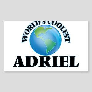 World's Coolest Adriel Sticker