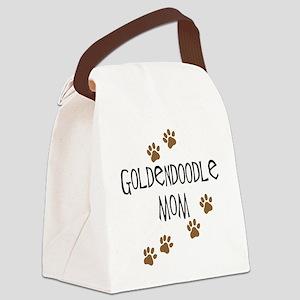 Goldendoodle Mom Canvas Lunch Bag