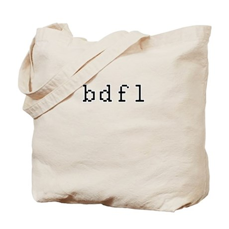 bdfl - Benevolent dictator for life Tote Bag