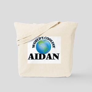 World's Coolest Aidan Tote Bag