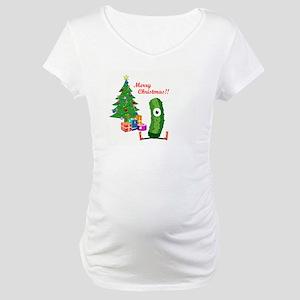 Merry Christmas with Frash Maternity T-Shirt