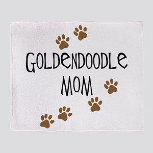 Goldendoodle Mom Throw Blanket