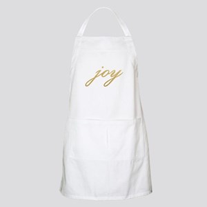 Joy Gold Sparkle Design Apron