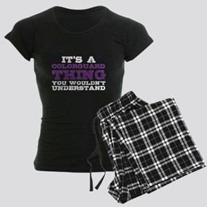 Colorguard Thing Women's Dark Pajamas