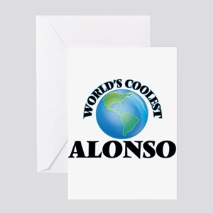 World's Coolest Alonso Greeting Cards