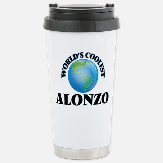 World's Coolest Alonzo Stainless Steel Travel Mug