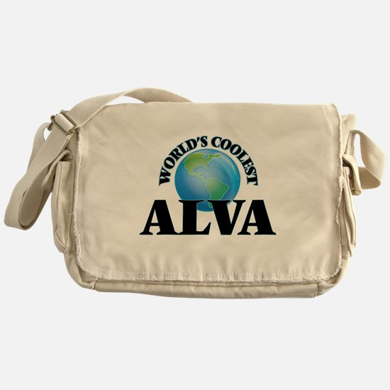 World's Coolest Alva Messenger Bag