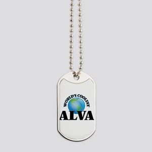 World's Coolest Alva Dog Tags