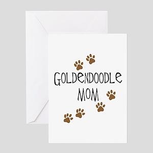 Goldendoodle Mom Greeting Cards