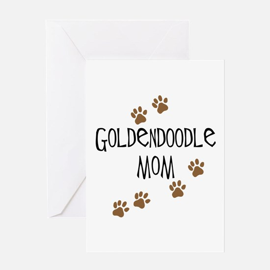 Goldendoodle Mom Greeting Cards
