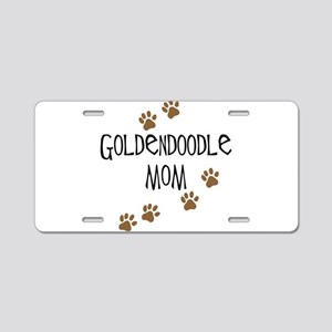 Goldendoodle Mom Aluminum License Plate