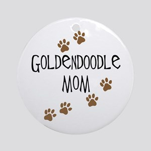 Goldendoodle Mom Ornament (Round)
