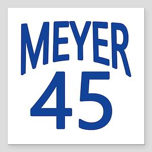 "VEEP Meyer 45 Square Car Magnet 3"" x 3"""