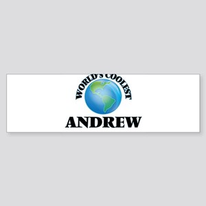 World's Coolest Andrew Bumper Sticker
