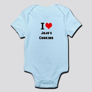 I Heart Love Custom Names Jojos Cooking Body Suit