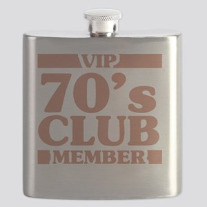 VIP Member 70th Birthday Flask