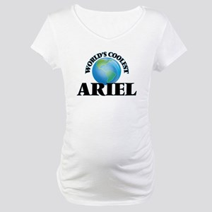 World's Coolest Ariel Maternity T-Shirt