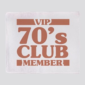 VIP Member 70th Birthday Throw Blanket