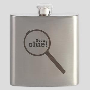 Get A Clue Flask